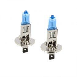 SuperWhite Blue H1 55W-12V-4200K 2stuks