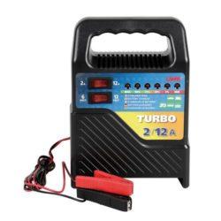 Acculader Turbo 6–12V 12A