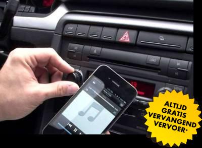 muziek integratie in uw auto