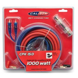 Kabelkit voor versterkers tot 1000W CPK15D