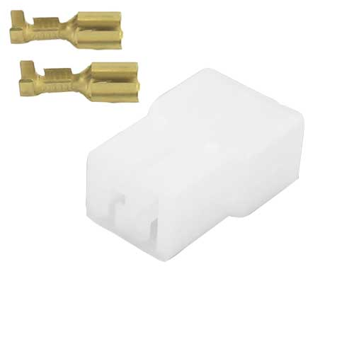 2 POLIG MALE CONNECTOR SET