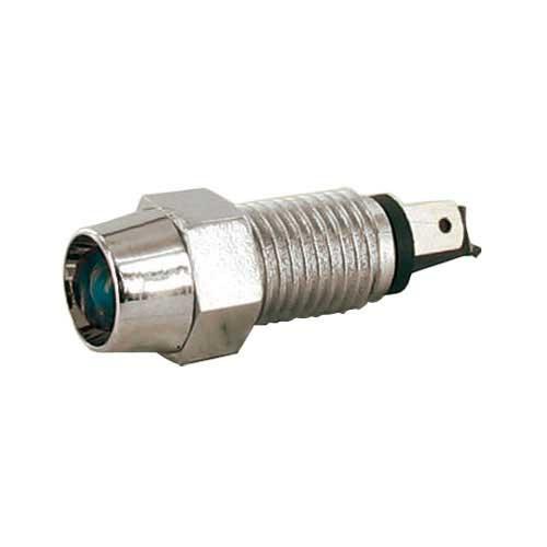 CONTROLE LAMP BLAUW 12 VOLT