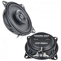 Speakers 10 Cm Coaxiaal FLAT 50-90 Watt