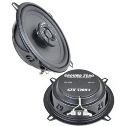 Speakers 13 cm coaxiaal FLAT 60-100 watt