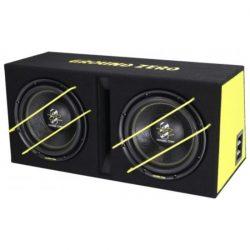 Subwoofer Bassreflex box 2x 12 inch 2000 watt SPL