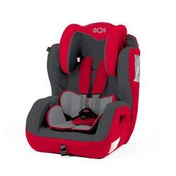 Kinderstoel BEZ Rood-Grijs 9-36kg - 9mnd-12jr
