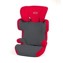 Kinderstoel BM Rood-Grijs 15-36kg - 4-12 jaar