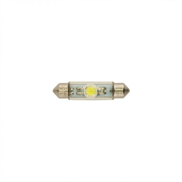 LED Xenon White 10x42 Festoon 1st