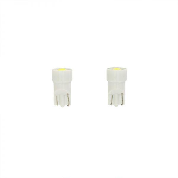 LED Xenon White T-10 12V 2stuks