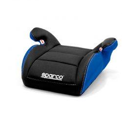 Sparco zitverhoger F100 Zwart-Blauw 15-36kg 4-12jr