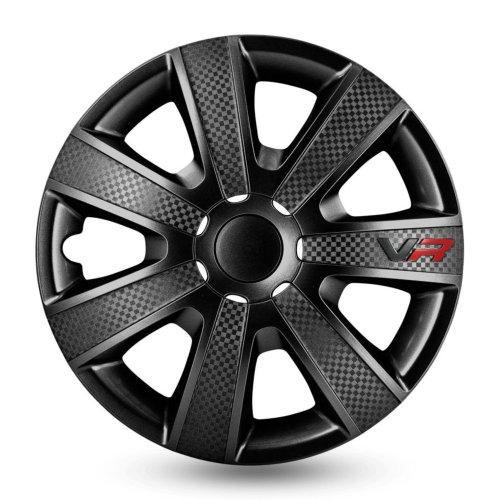 Wieldop Set VR 14inch Black Carbon Look