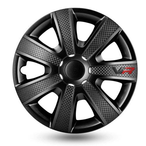 Wieldop Set VR 15inch Black Carbon Look
