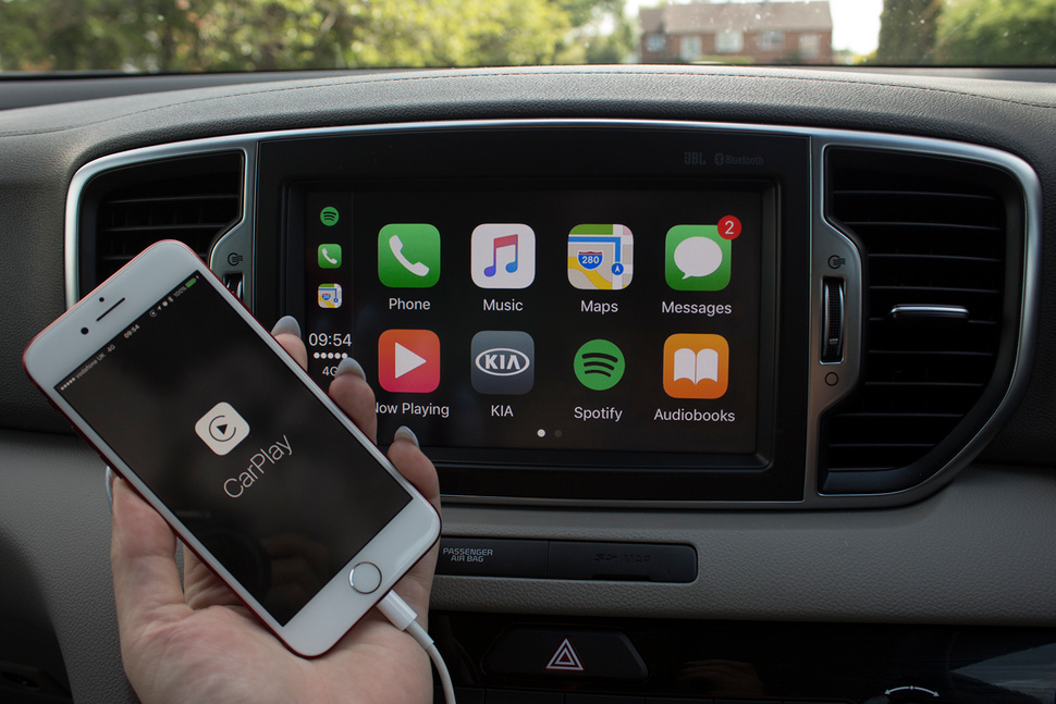 autoradio met apple carplay
