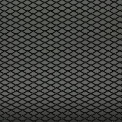 racegaas zwart 125x25 cm-ruit 16x8
