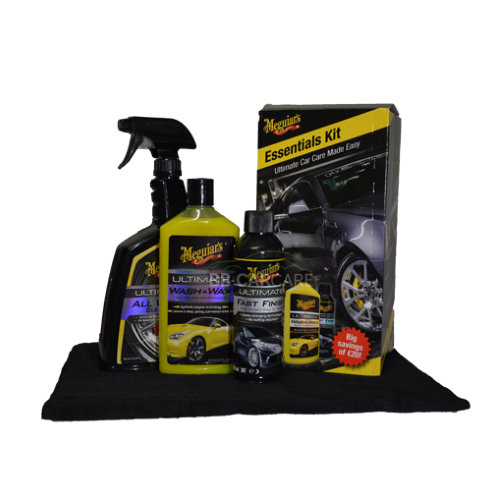Meguiars Essentials Kit inhoud