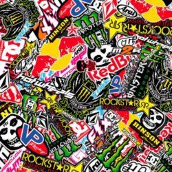 Stickerbomb Folie design 2
