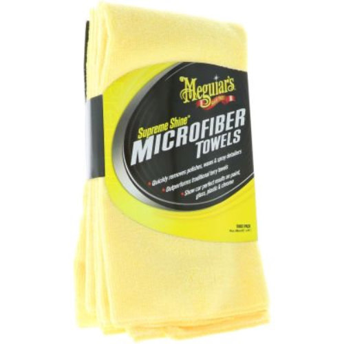 Supreme Shine Microfiber-3 Pack