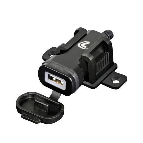 12-24V USB LADER INCL. PLUG MET BEVESTIGINGSSTEUN