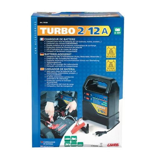 Acculader Turbo 6–12V 12A 1