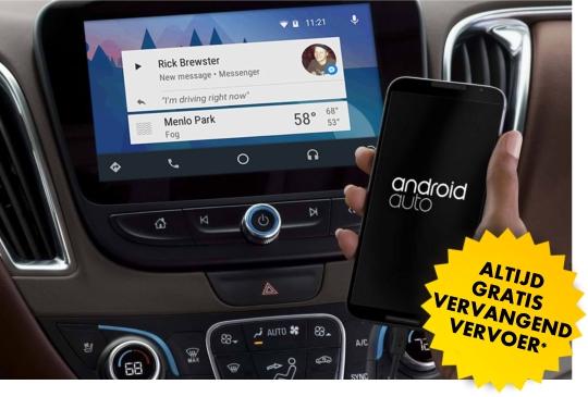 muziek integratie android auto