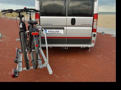 busbiker wegklapbare fietsendrager